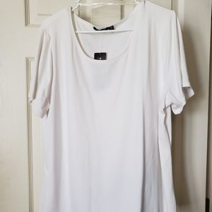Pretty white top from notations